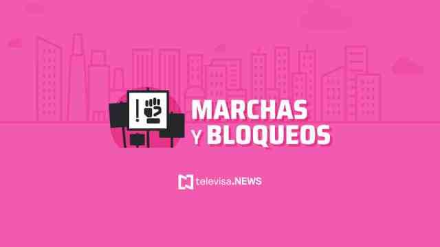 Autoridades de la CDMX informaron que hoy habrá seis marchas en la capital del país.