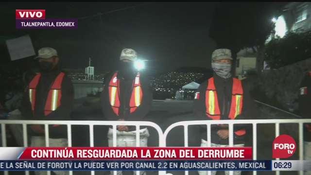 mas del 50 de vecinos en zona del derrumbe de cerro del chiquihuite desalojaron sus hogares