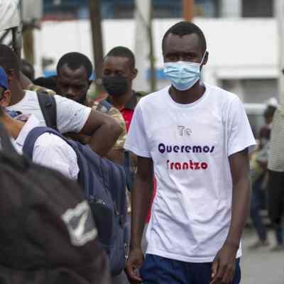México reanudará vuelos de deportación para migrantes haitianos.