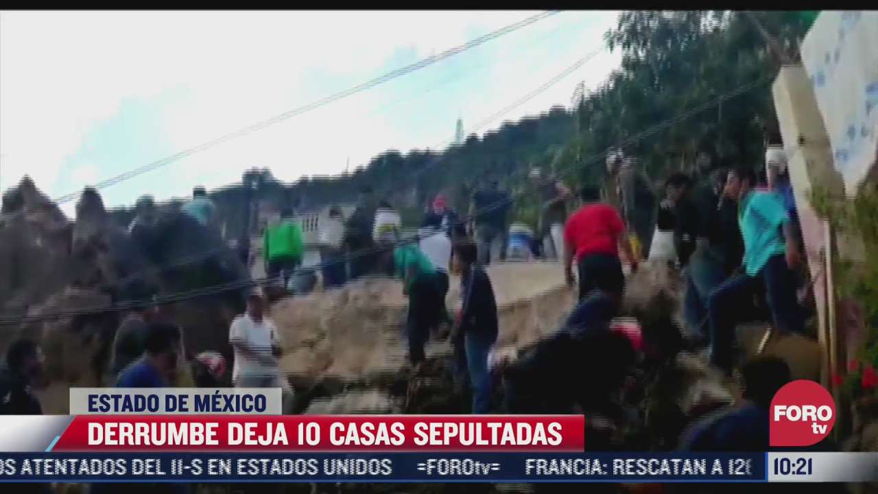 no se han reanudado labores de rescate en el chiquihuite