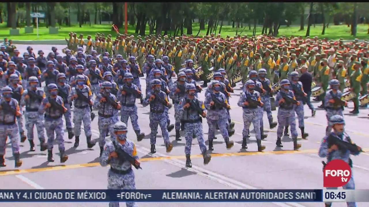 novedades e innovaciones del desfile militar del 16 de septiembre