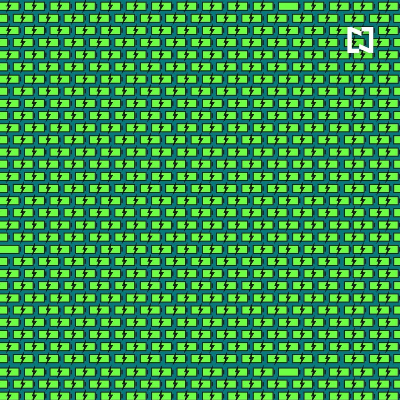Viral: reto visual, encuentra las baterías que no cargan