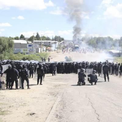FGR detienen a 2 expolicías por operativo en Nochixtlán, Oaxaca, en 2016