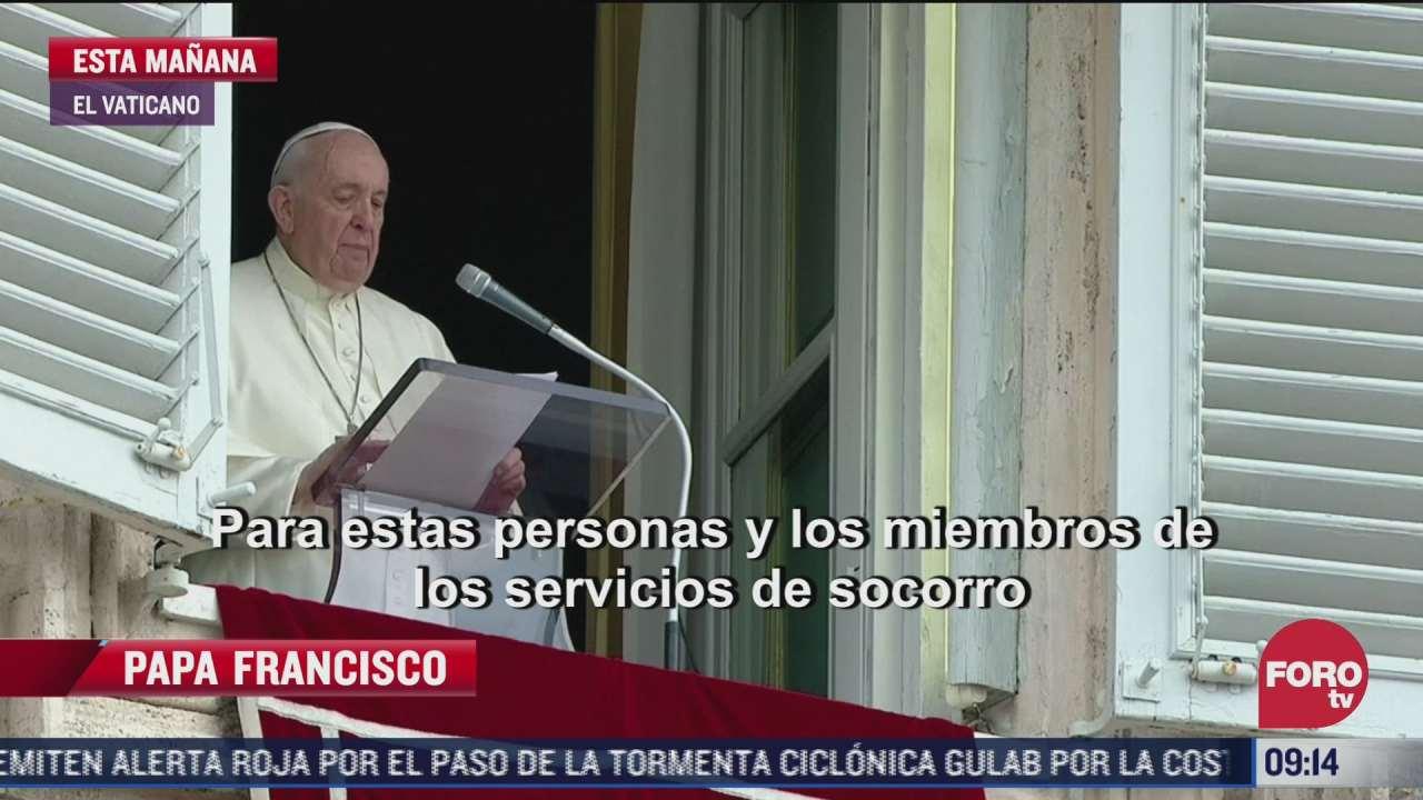 papa francisco se solidariza con las personas afectadas por volcan cumbre vieja
