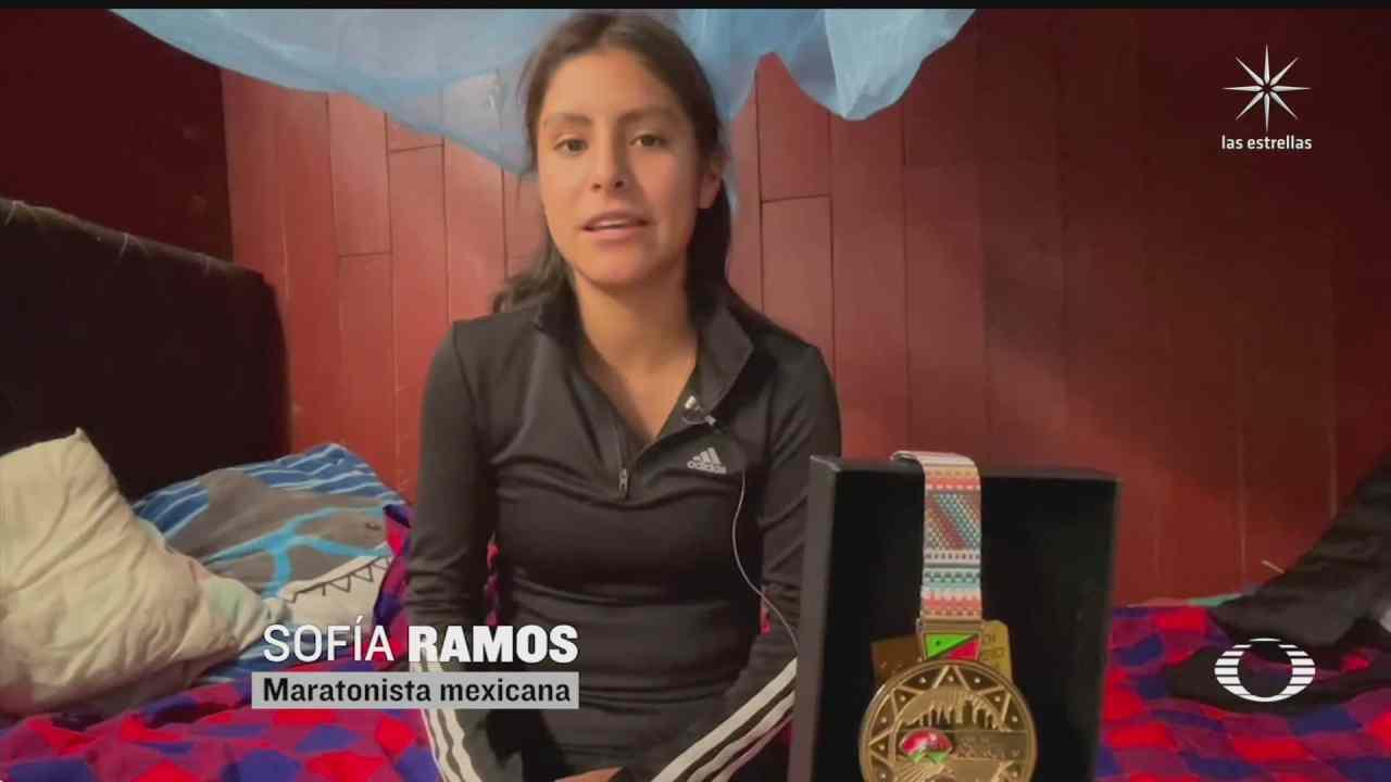pese a situacion economica maratonista mexicana busca superarse y ganar mas medallas