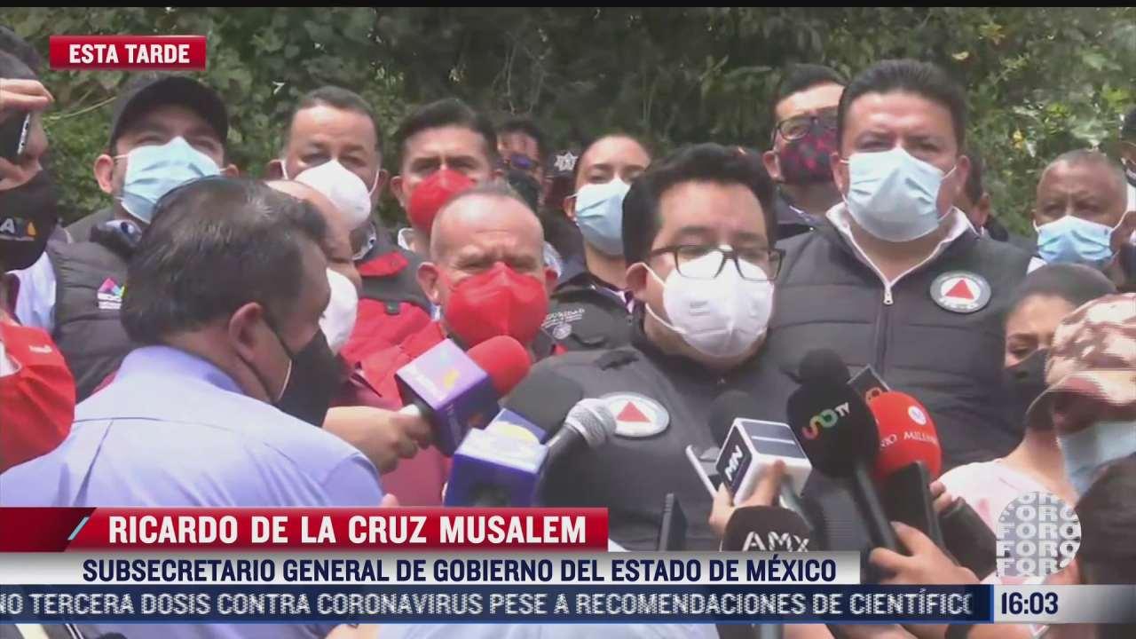piden a habitantes del cerro del chiquihuite no realizar festejos con pirotecnia