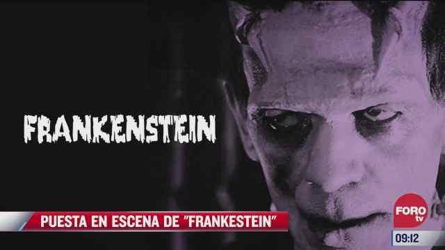 puesta en escena frankenstein