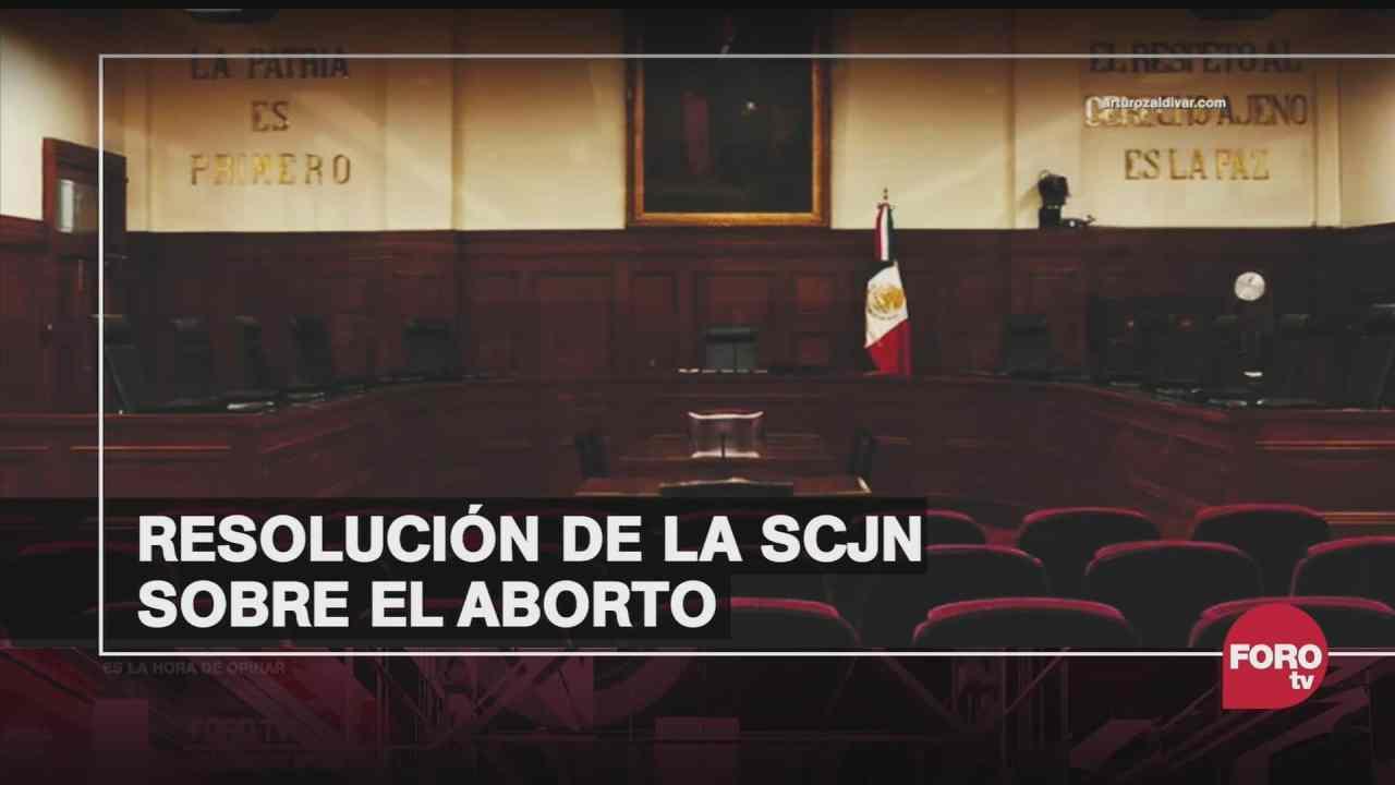 que implica la decision de la scjn sobre la despenalizacion del aborto
