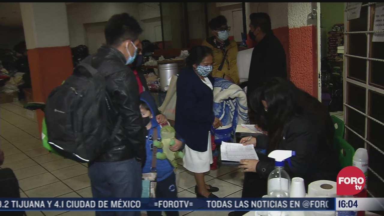 realizan desalojo de cientos de vecinos por temor a nuevo derrumbe en el chiquihuite