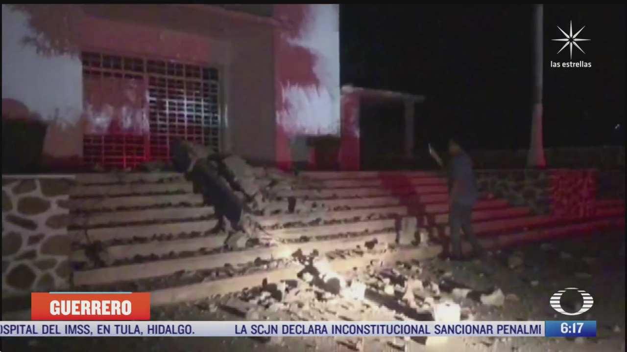 se han registrado 131 replicas tras sismo de 7 1 grados en acapulco guerrero