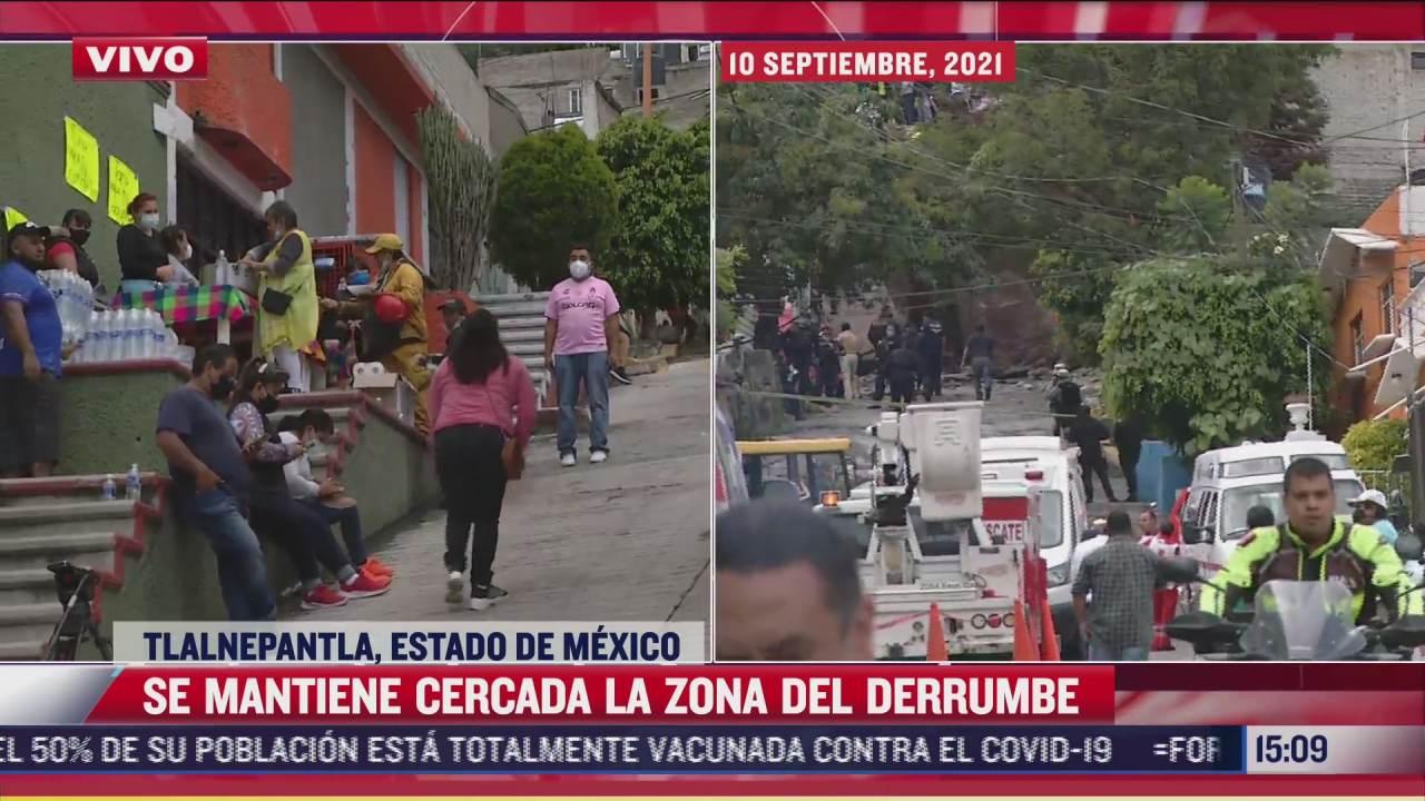 se mantiene cifra de 3 desaparecidos por deslave en chiquihuite