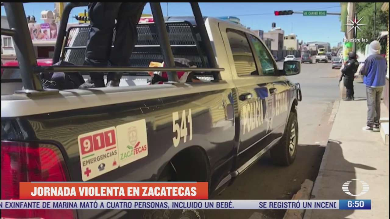 se registran 14 asesinatos en zacatecas