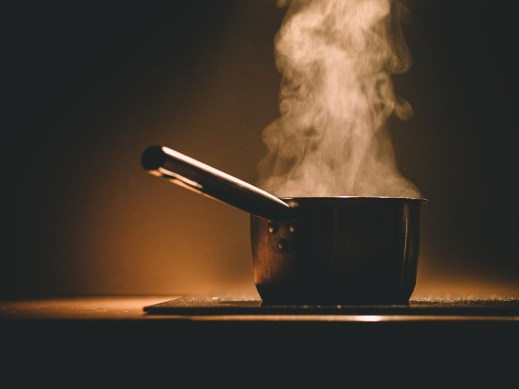 Sexo casero en la cocina