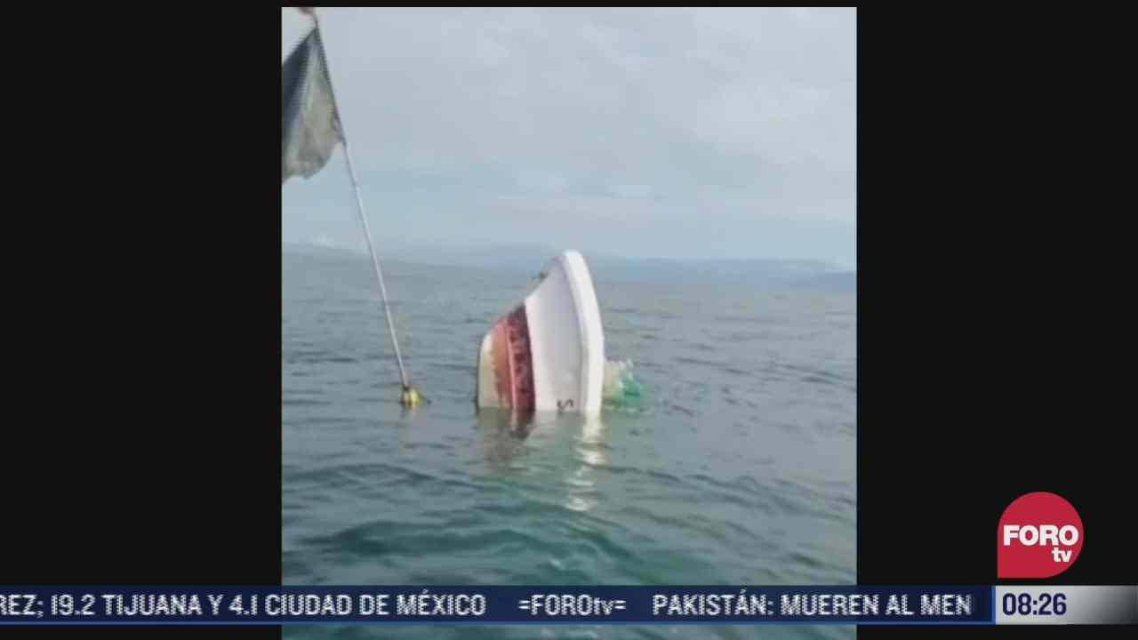 sigue busqueda de pescadores desaparecidos por huracan nora en guerrero