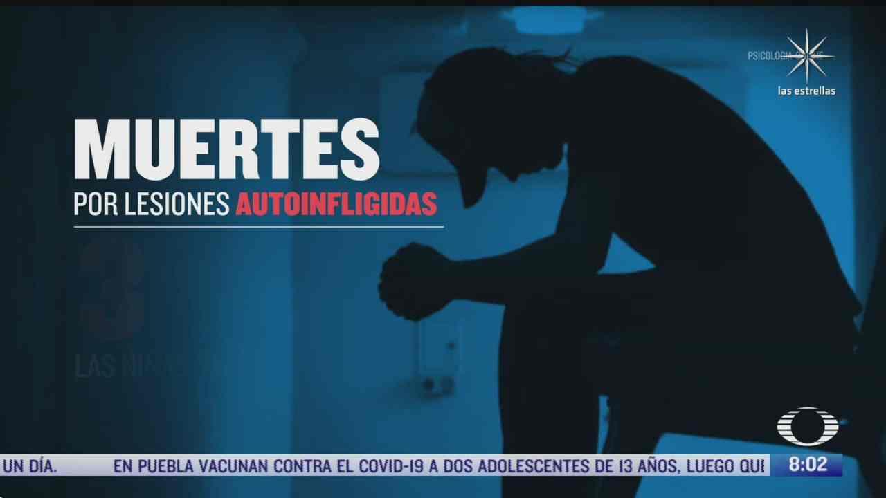 suicidio segunda causa de muerte en jovenes de mexico