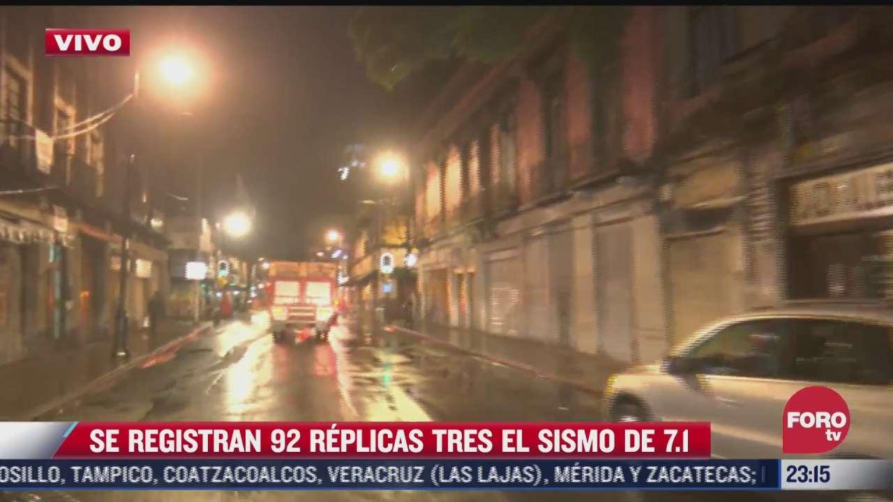 suman mas de 92 replicas por sismo en acapulco guerrero