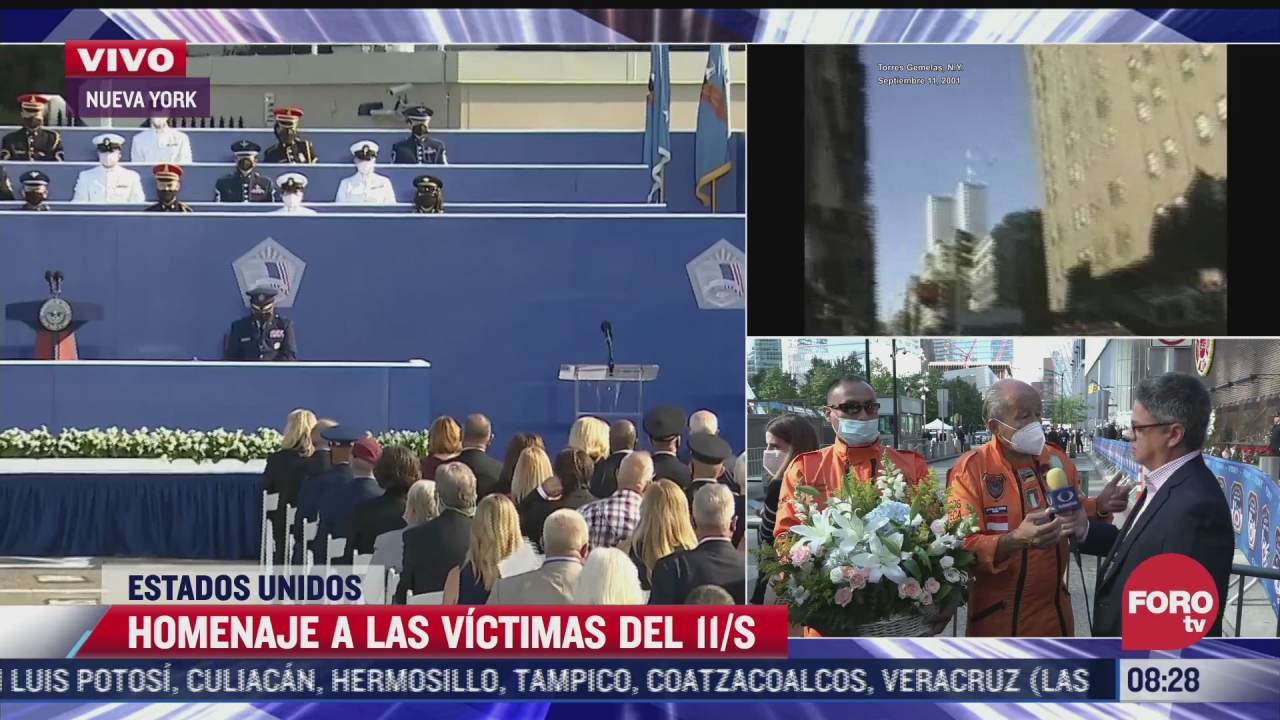 topos mexicanos relatan como veian los cuerpos entre los escombros el 11 s