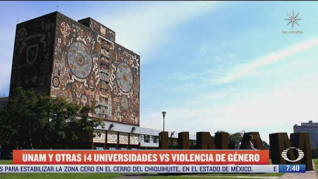 unam firmara convenios con otras universidades para erradicar violencia de genero