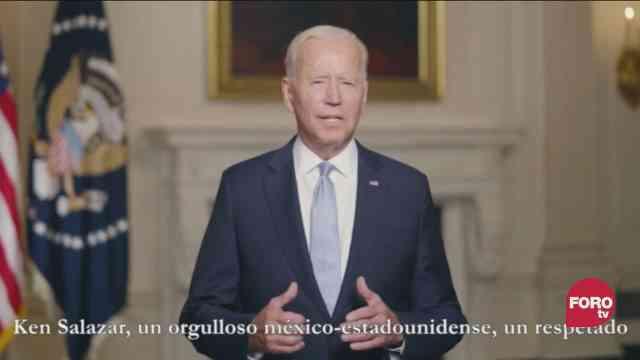 Video Joe Biden felicita a México por consumación de la Independencia