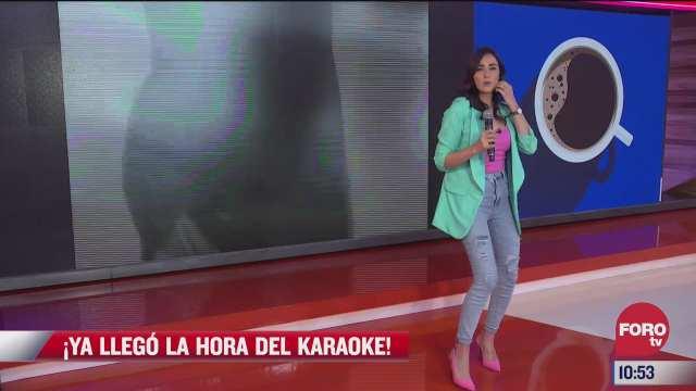 viernes de karaoke en expreso de la manana