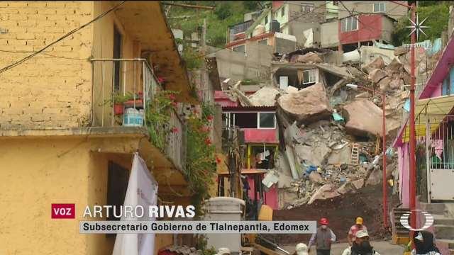 viviendas afectadas por deslave en el chiquihuite seran demolidas