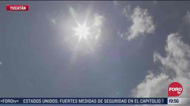 yucatan registra fuertes lluvias y calor extremo