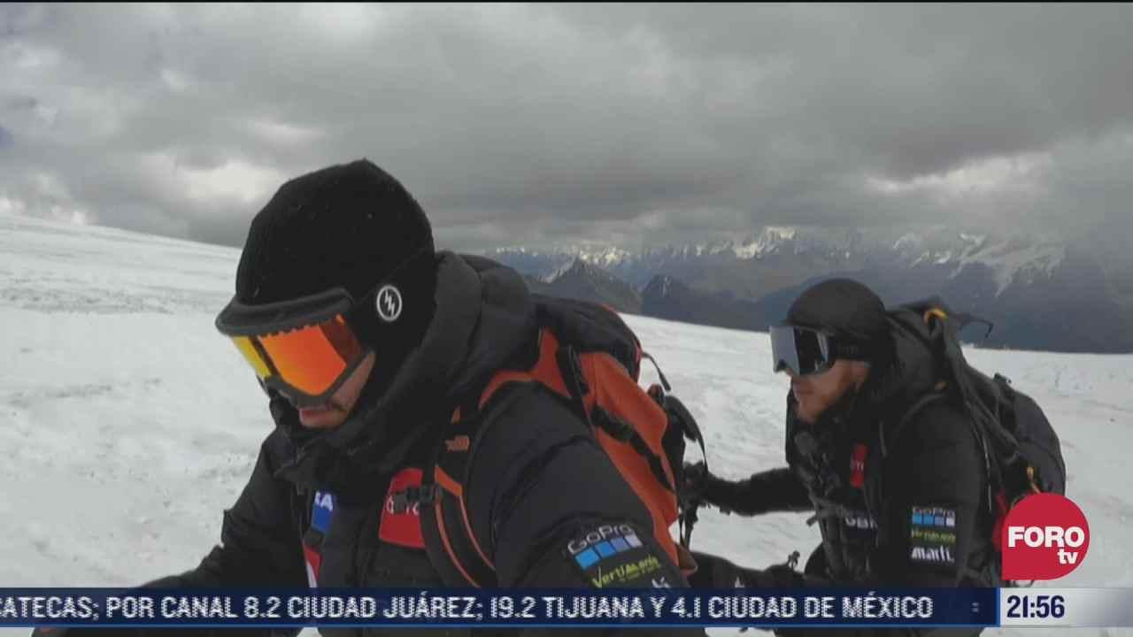 alpinista mexicano ciego busca escalar las montanas mas altas del mundo