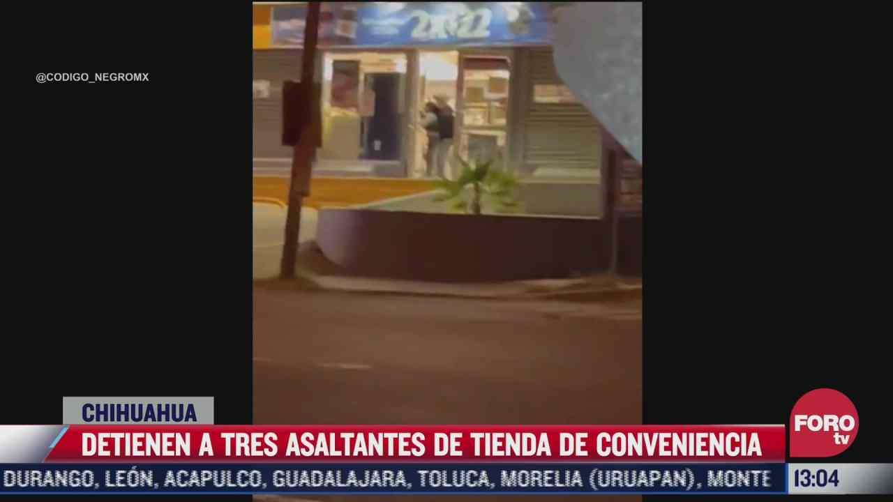 asaltantes toman a clientes como rehenes en tienda de chihuahua
