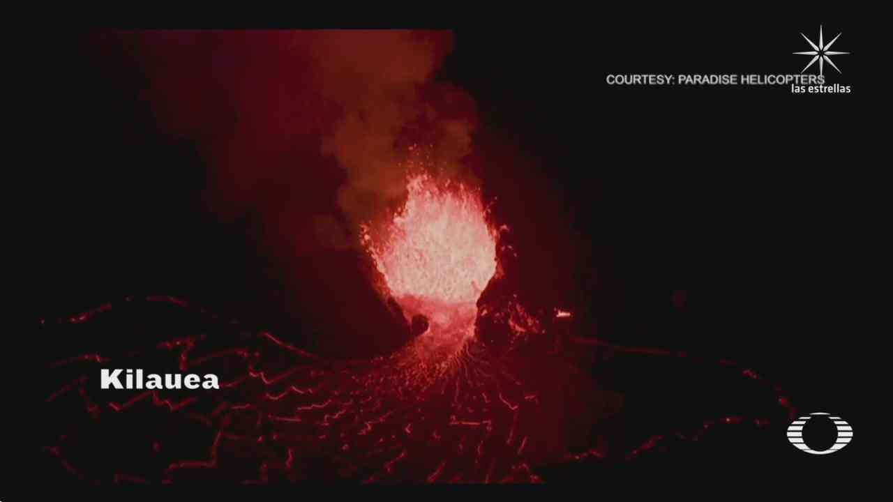 asi arden el volcan de la palma en espana y el kilauea en hawai