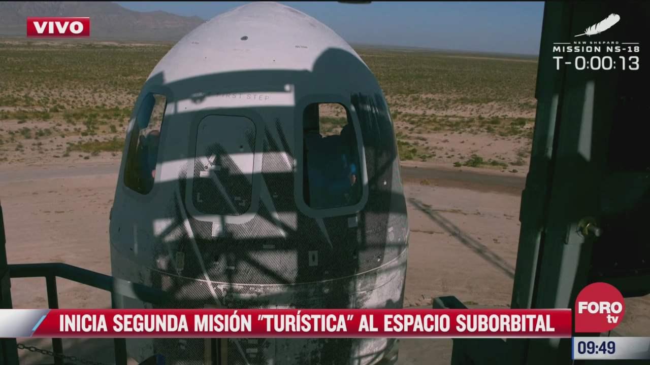 asi fue el segundo vuelo al espacio del blue origin con el actor william shatner de star trek a bordo