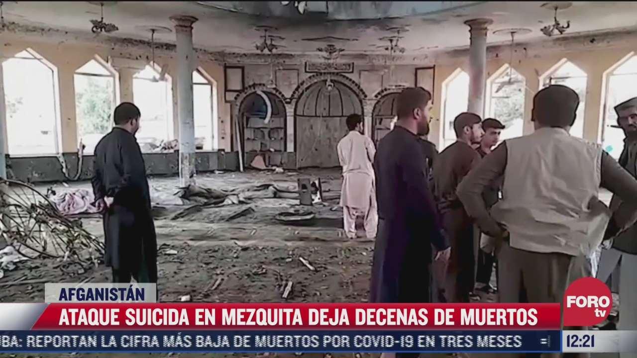 ataque suicida deja 40 muertos en afganistan