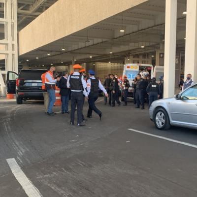 balacera aeropuerto internacional ciudad de mexico