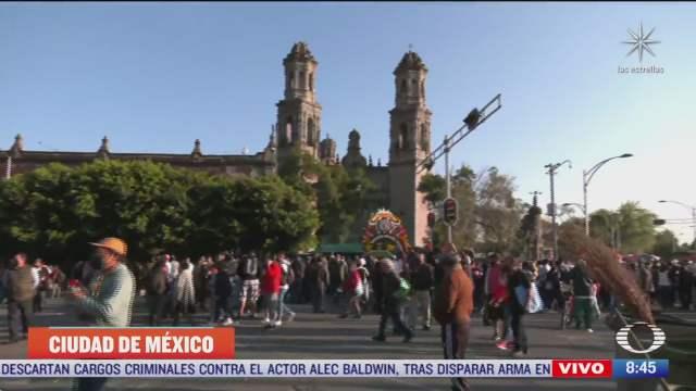 cierres viales en avenida hidalgo por celebracion a san judas tadeo en cdmx