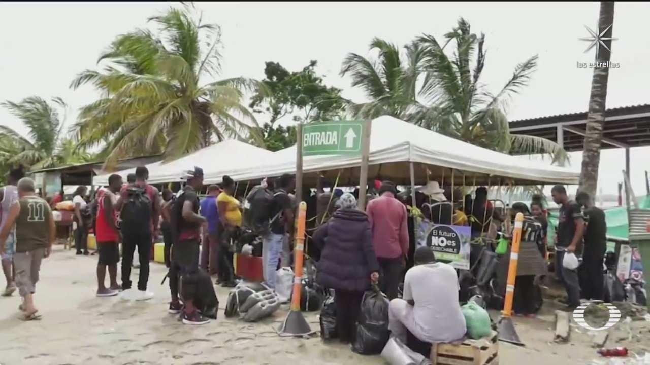 colombia muro para migrantes haitianos