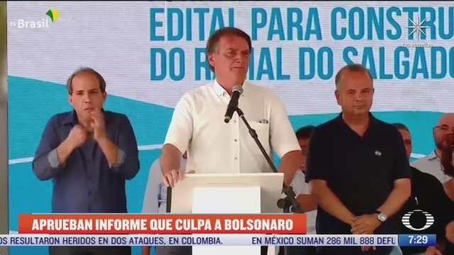 comision del senado brasileno aprueba acusacion contra bolsonaro por crimenes contra la humanidad