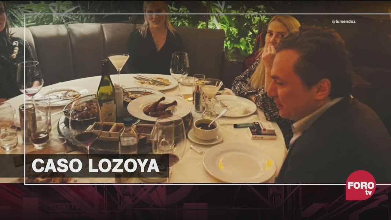 como explicar las fotos de emilio lozoya en un restaurante de lujo