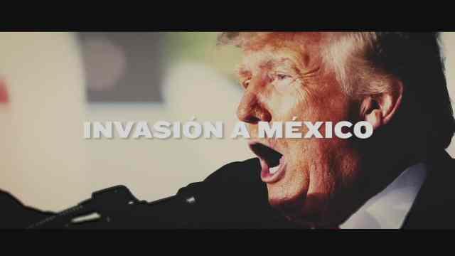 donald trump queria invadir a mexico