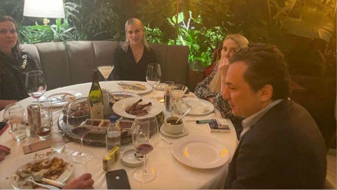 Captan a Emilio Lozoya, exdirector de Pemex, en lujoso restaurante