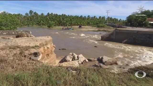 evaluan efectos del huracan rick en guerrero y michoacan