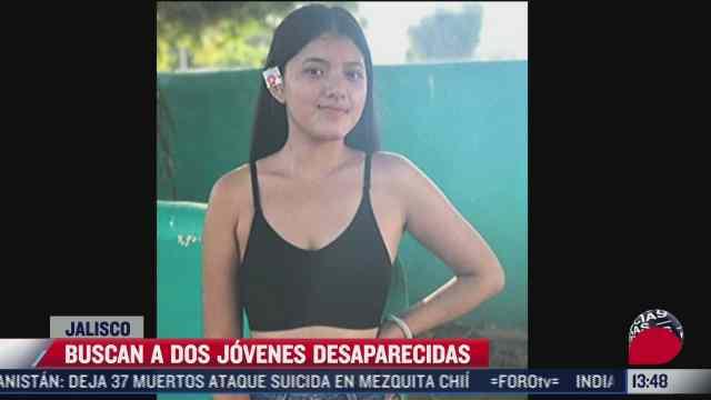familiares buscan a dos jovenes desaparecidas que salieron a buscar empleo en jalisco