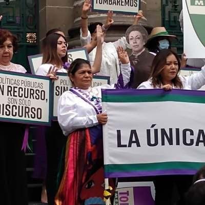 Feministas lanzan la fuerza política Todas México
