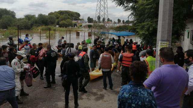 Fuertes lluvias en Querétaro causan severas inundaciones; hay miles de afectados