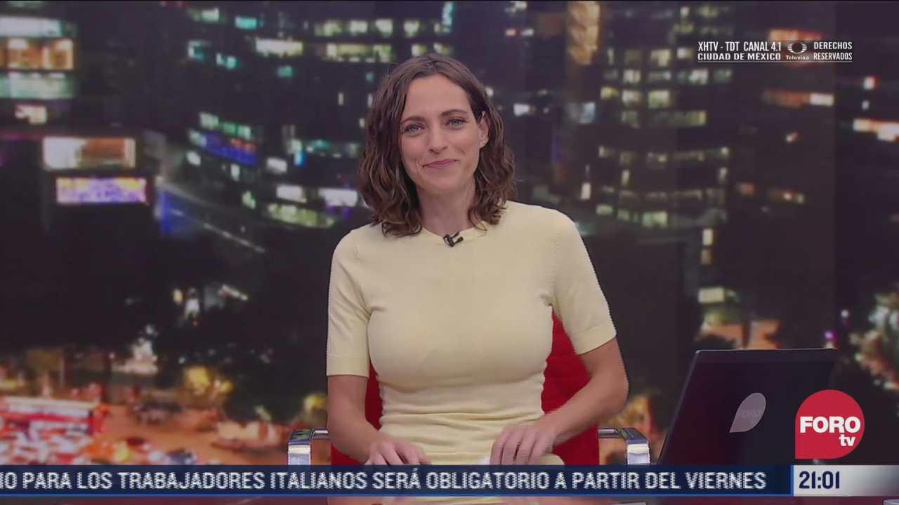 las noticias con ana francisca vega programa del 12 de octubre de