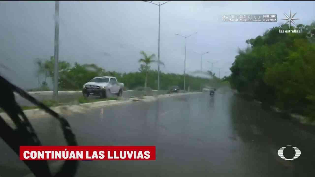 lluvias provocan inundaciones y deslaves en veracruz