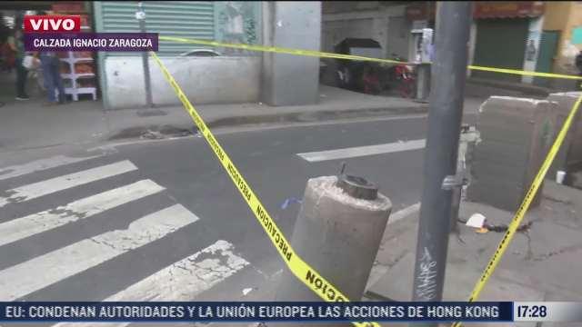 muere joven atropellada cerca de metro guelatao