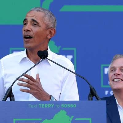 Obama realiza campaña para una elección clave en Virginia