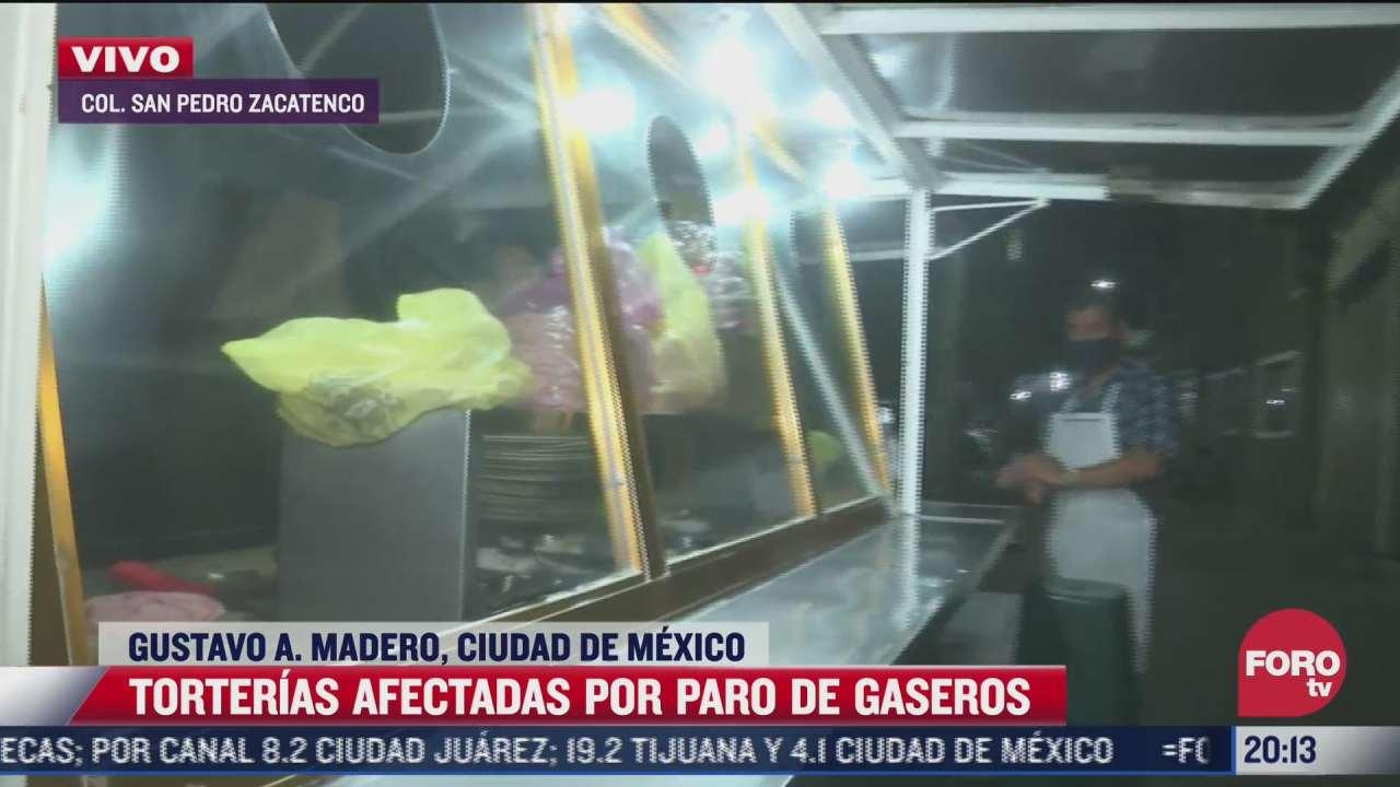 paro de gaseros afecta negocios en cdmx