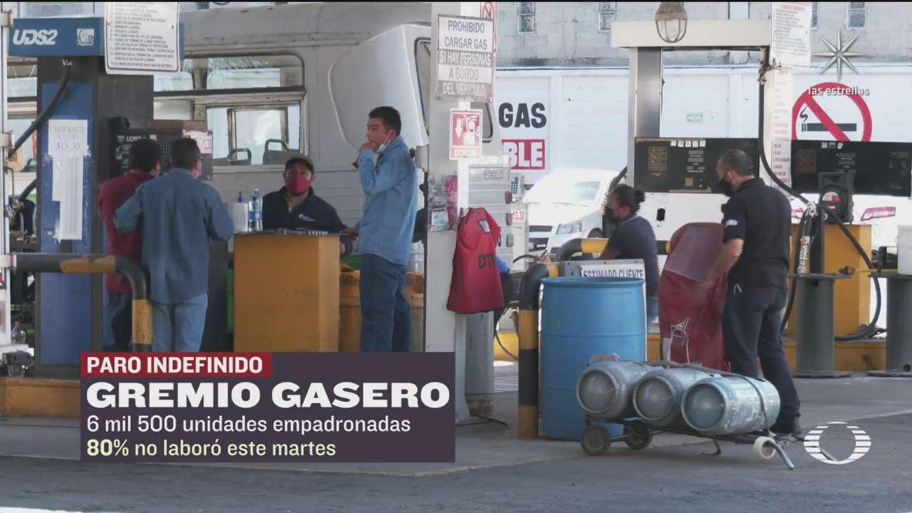 paro de gaseros no se llevo de manera uniforme en el valle de mexico