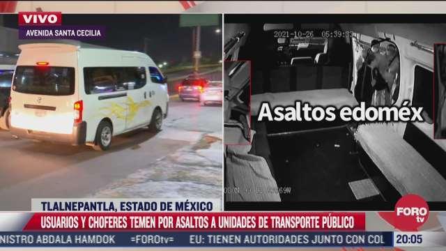 policias realizan operativos de revision aleatoria tras violento asalto a combi en tlalnepantla