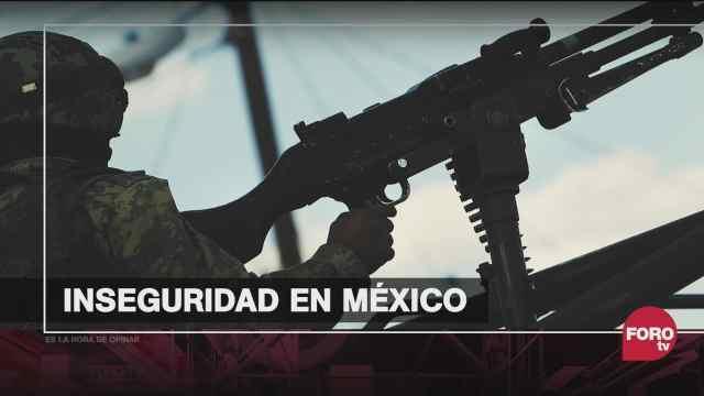 por que aumento la violencia en mexico